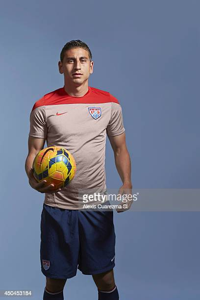 US national team Alejandro Bedoya is photographed for Sports Illustrated on May 24 2014 in Palo Alto California PUBLISHED IMAGE CREDIT MUST READ...