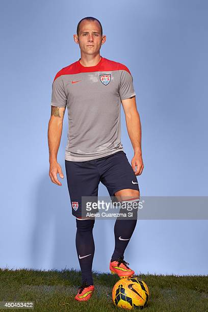 US national team Brad Davis is photographed for Sports Illustrated on May 24 2014 in Palo Alto California CREDIT MUST READ Alexis Cuarezma/Sports...