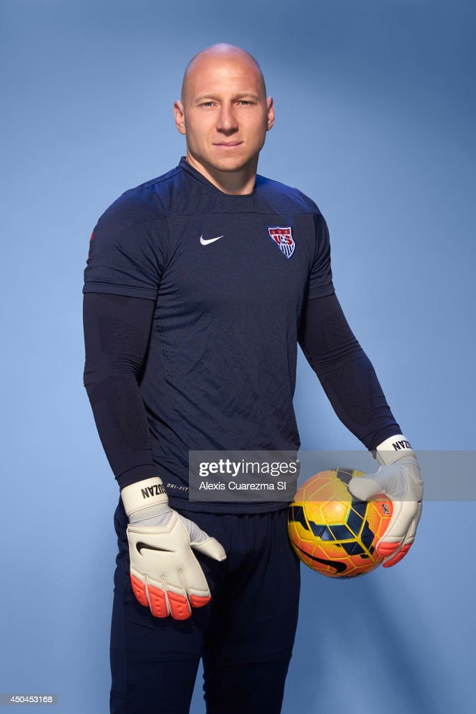 US national team, <a gi-track='captionPersonalityLinkClicked' href=/galleries/search?phrase=Brad+Guzan&family=editorial&specificpeople=662127 ng-click='$event.stopPropagation()'>Brad Guzan</a> is photographed for Sports Illustrated on May 24, 2014 in Palo Alto, California. PUBLISHED IMAGE.