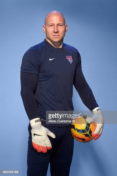 US national team Brad Guzan is photographed for Sports Illustrated on May 24 2014 in Palo Alto California PUBLISHED IMAGE CREDIT MUST READ Alexis...