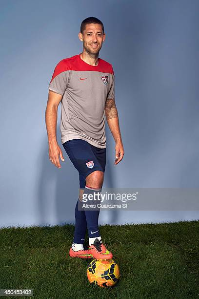 US national team Clint Dempsey is photographed for Sports Illustrated on May 24 2014 in Palo Alto California PUBLISHED IMAGE CREDIT MUST READ Alexis...