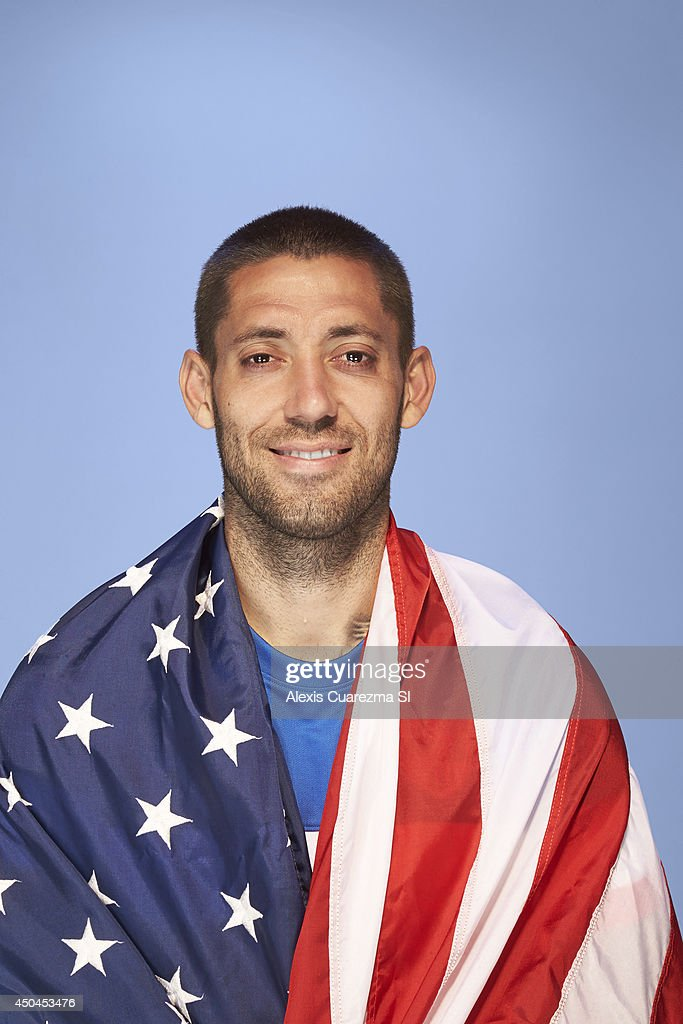 US national team, Clint Dempsey is photographed for Sports Illustrated on May 24, 2014 in Palo Alto, California.