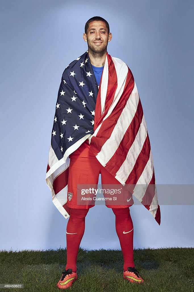 US national team, Clint Dempsey is photographed for Sports Illustrated on May 24, 2014 in Palo Alto, California. COVER IMAGE.