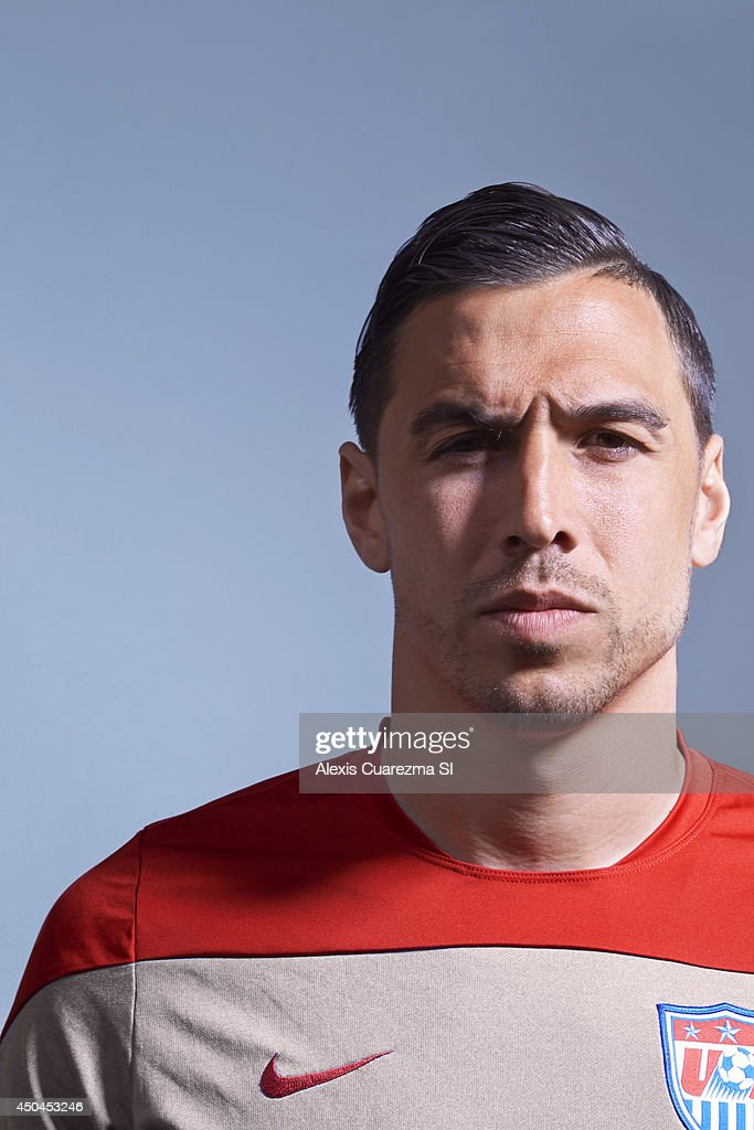 US national team, <a gi-track='captionPersonalityLinkClicked' href=/galleries/search?phrase=Geoff+Cameron&family=editorial&specificpeople=5101639 ng-click='$event.stopPropagation()'>Geoff Cameron</a> is photographed for Sports Illustrated on May 24, 2014 in Palo Alto, California.
