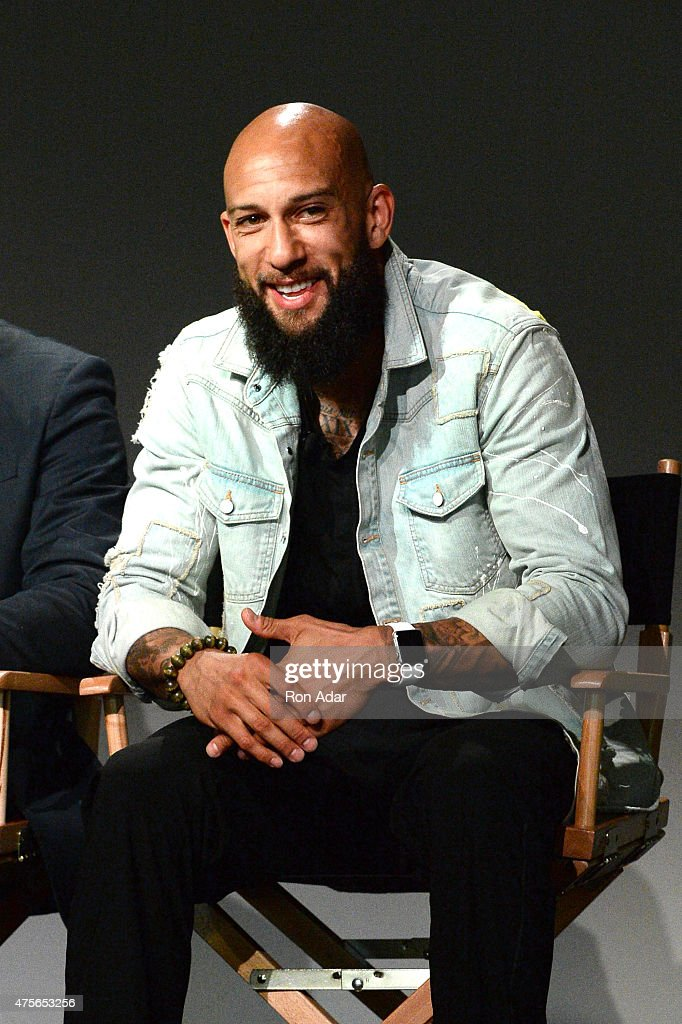 US National Team Goalie Tim Howard attends Meet the Developer: Tim Howard, 'Goal One' at Apple Store Soho on June 2, 2015 in New York City.