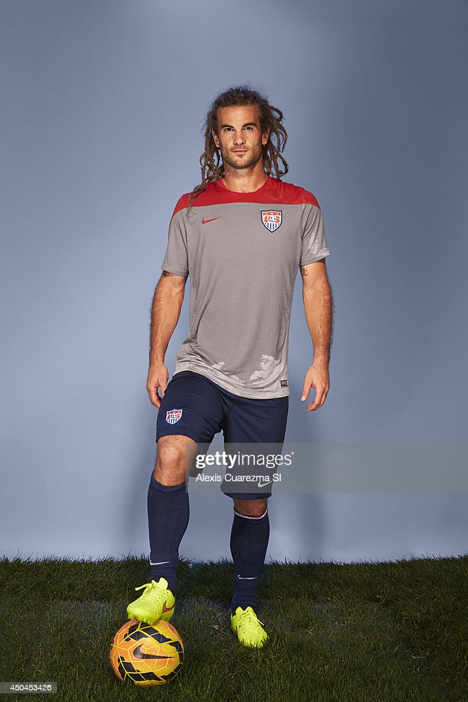 US national team, <a gi-track='captionPersonalityLinkClicked' href=/galleries/search?phrase=Kyle+Beckerman&family=editorial&specificpeople=578059 ng-click='$event.stopPropagation()'>Kyle Beckerman</a> is photographed for Sports Illustrated on May 24, 2014 in Palo Alto, California.