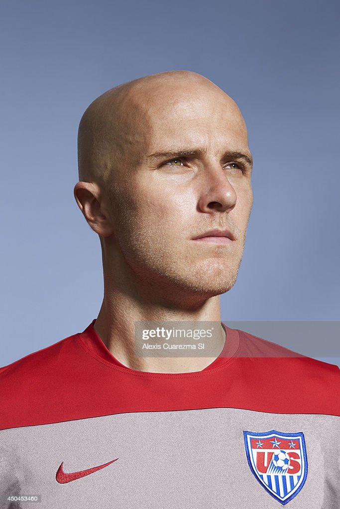US national team, Michael Bradley is photographed for Sports Illustrated on May 24, 2014 in Palo Alto, California.