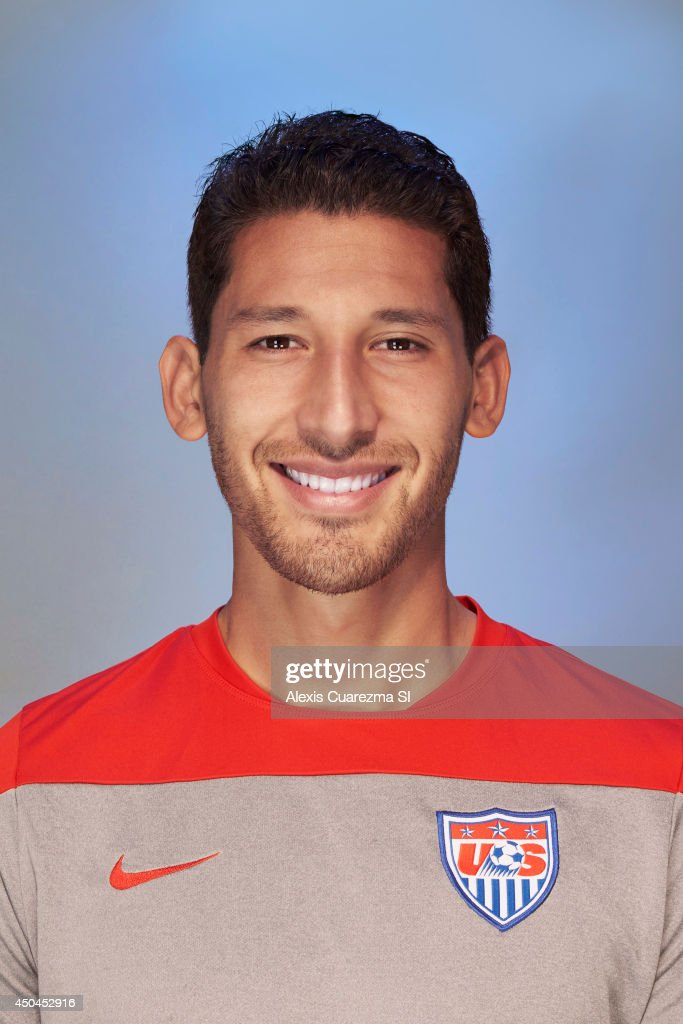 US national team, Omar Gonzalez is photographed for Sports Illustrated on May 24, 2014 in Palo Alto, California.