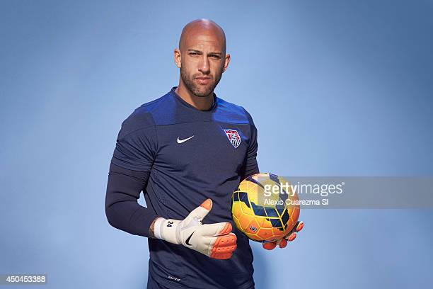 US national team Tim Howard is photographed for Sports Illustrated on May 24 2014 in Palo Alto California CREDIT MUST READ Alexis Cuarezma/Sports...