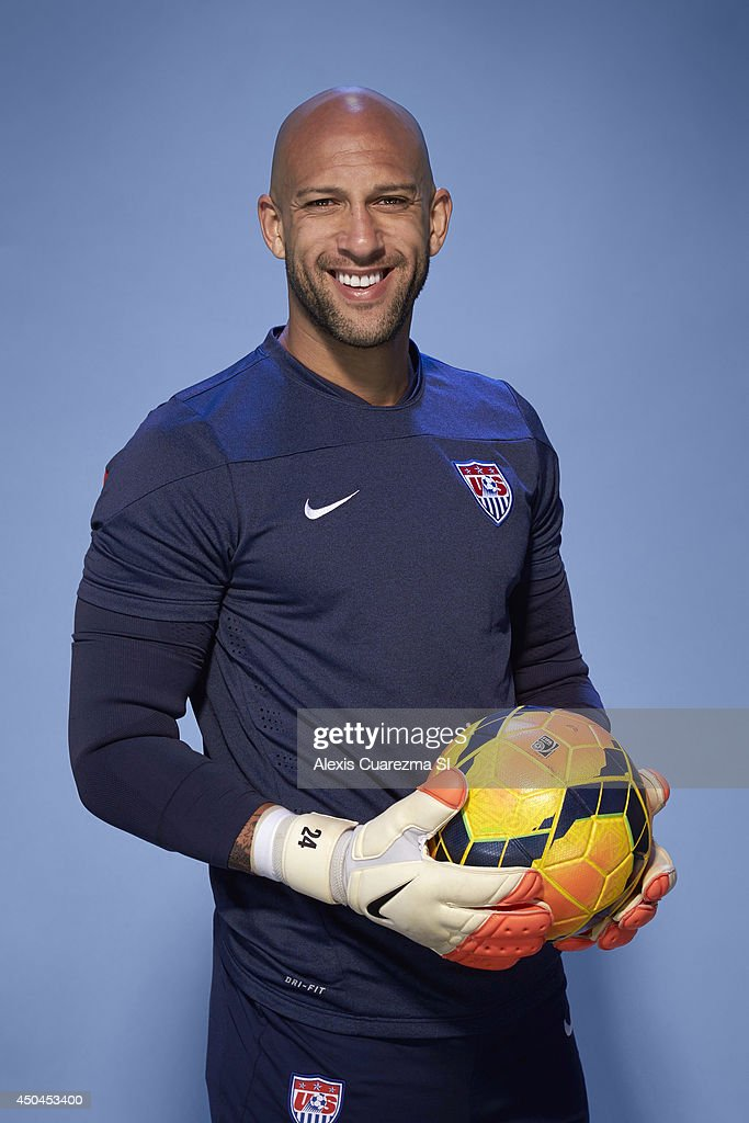US national team, Tim Howard is photographed for Sports Illustrated on May 24, 2014 in Palo Alto, California. PUBLISHED IMAGE.
