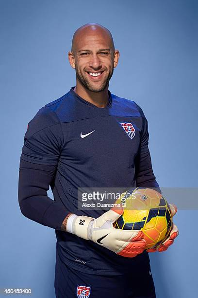 US national team Tim Howard is photographed for Sports Illustrated on May 24 2014 in Palo Alto California PUBLISHED IMAGE CREDIT MUST READ Alexis...