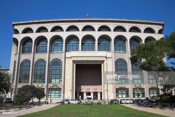 National Theatre Teatrul National Ion Luca Caragiale Piata Universitatii University Square Bucharest Romania