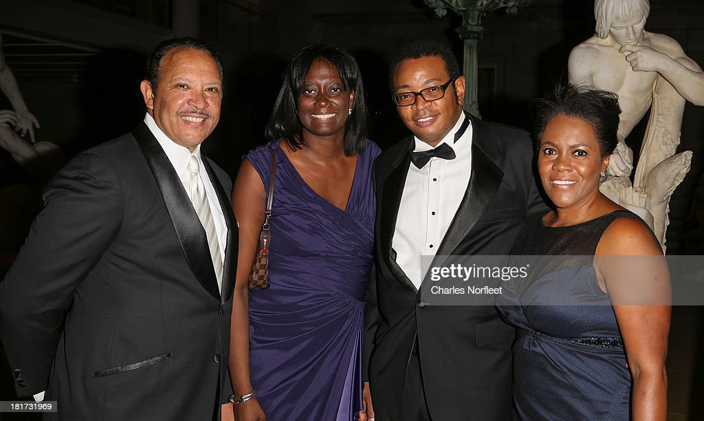National Urban League President and former Mayor of New Orleans Marc Morial, Deesha Hill, David Davenport and Monica Azare Davenport attend 2013 Multicultural Gala: An Evening Of Many Cultures at Metropolitan Museum of Art on September 23, 2013 in New York City.