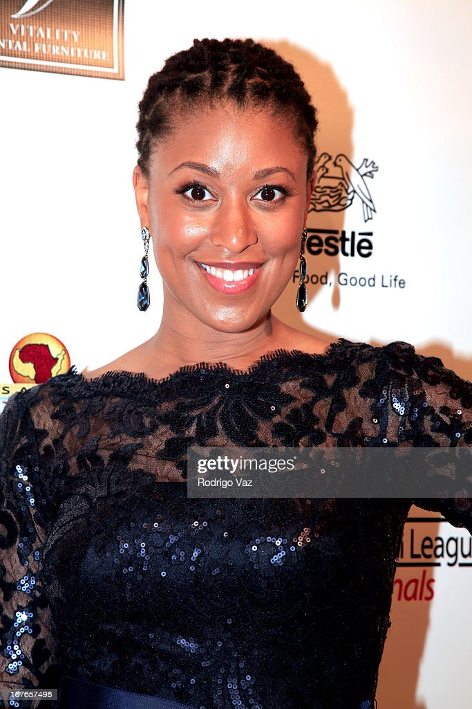 National Urban League Young Professionals President Brandi Richard arrives at the 3rd Annual 'To The Nines' After Party Hosted by LA Urban League Young Professionals at The Beverly Hilton Hotel on April 26, 2013 in Beverly Hills, California.