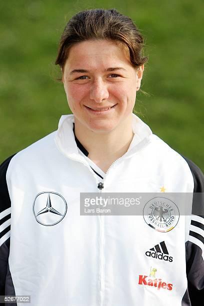 Nationalmannschaft Deutschland 2005 Hameln 060405 Portrait Verena HAGEDORN