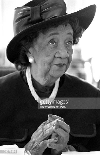12/03/97 Natioonal Council of Negro Women 6th Pa NW BRIEF DESCRIPTION Dorothy Height president Dorothy Height in her office at NCNW Headquarters She...