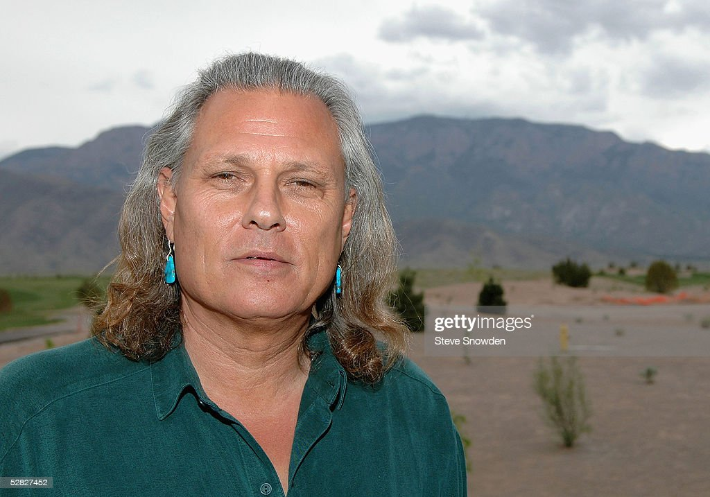 Native American Actor and Artist Michael Horse poses at the Fifth Annual Legacy Art Auction at Sandia Pueblo Golf Clubhouse on May 14, 2005 in Albuquerque, New Mexico.