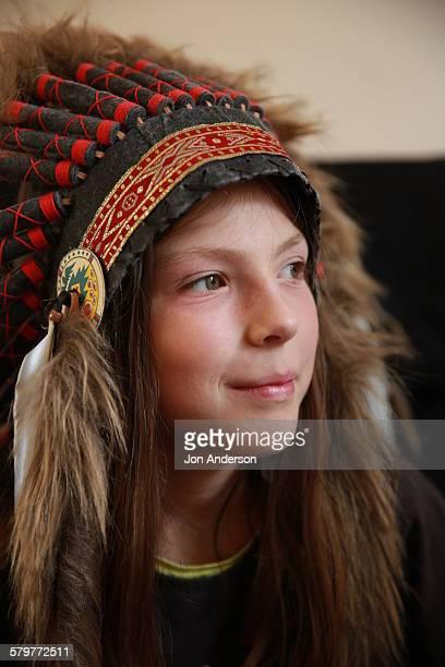 Native American head dress