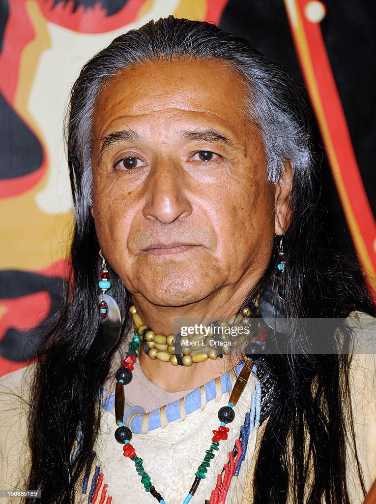 Native American Healer Danny Ramos arrives for the 9th Annual Red Nation Film Festival Closing Night Gala held at Harmony Gold Theatre on November 14, 2012 in Los Angeles, California.