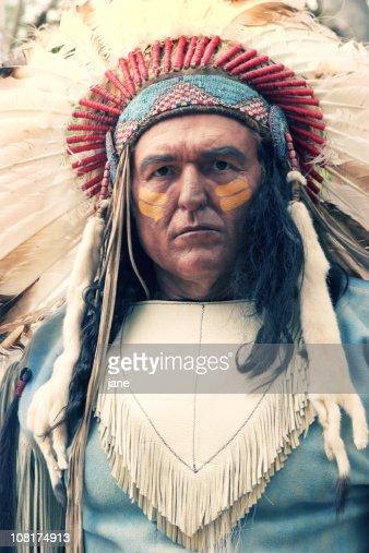 Nativo americano hombre