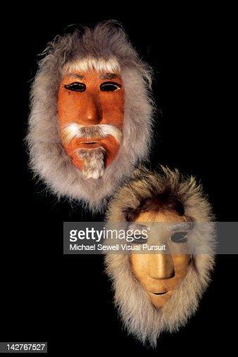 Native Inuit Eskimo Art : Stock Photo