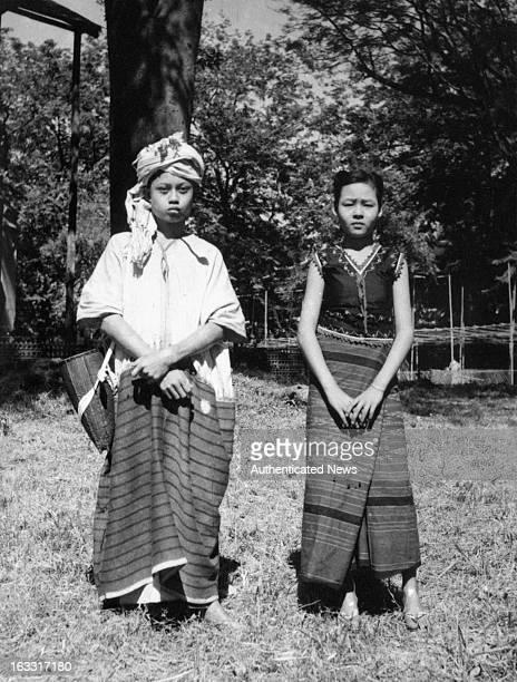 Native People Of Burma 1955