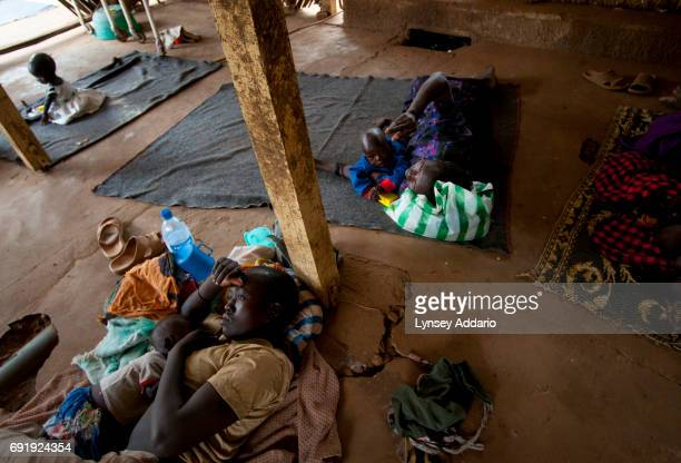 Native Southern Sudanese lie in a ward for the malnourished at a clinic in South Sudan near the Ugandan border February 2008 After more than five...