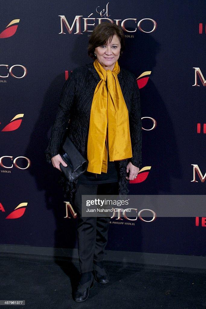 Nativel Preciados attends the 'The Physician' (El Medico) premiere at Callao Cinema on December 19, 2013 in Madrid, Spain.
