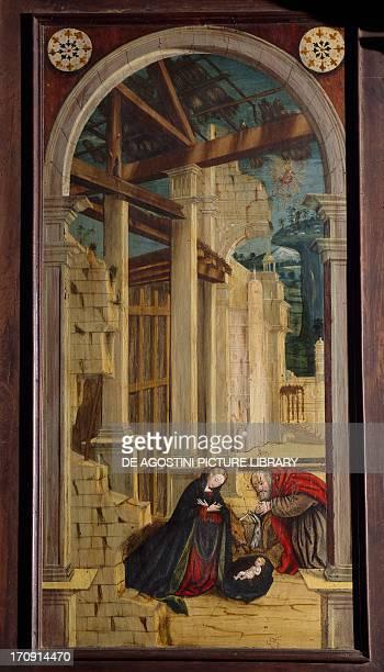 Nativity 16th century Church of Saint Jerome Biella Piedmont Italy