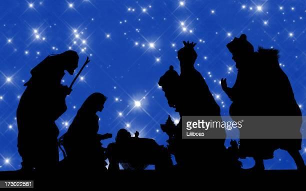 Crèche de Noël (modèle photographié