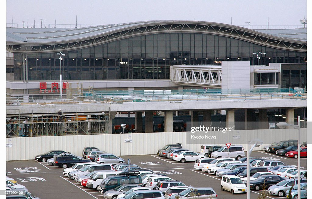 Natori Japan File photo shows a terminal station under construction on the Sendai Airport Access Line at Sendai airport in Miyagi Prefecture The...