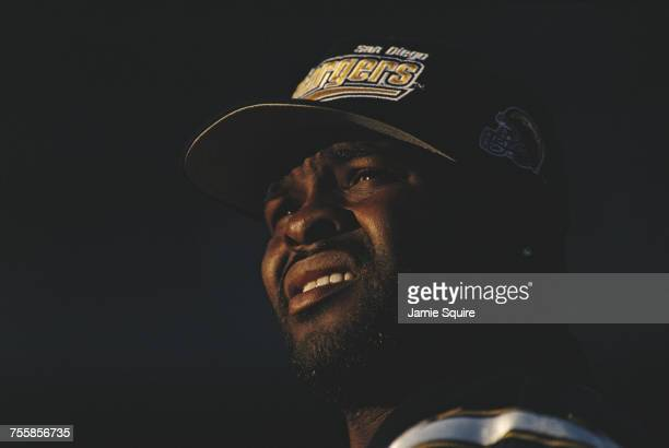 Natrone Means Running Back for the San Diego Chargers during the American Football Conference West game against the Denver Broncos on 19 November...