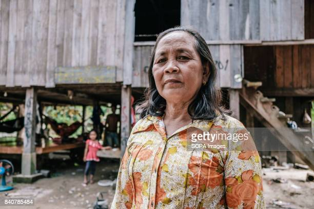 Natt Sota has lived in Srekor village for 63 years She is a member of one the 93 families that refuse to take relocation and take the compensation...