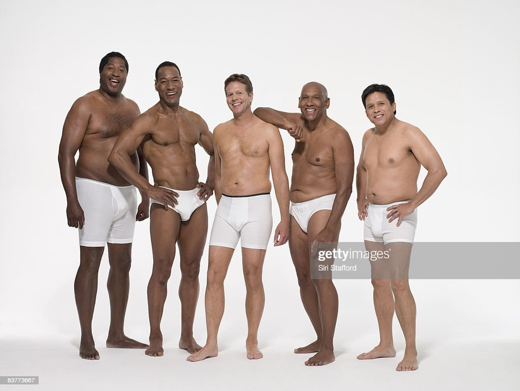 natural aging male body : Stock Photo