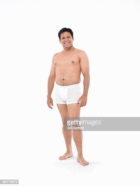 Natürlichen Hautalterung männliche Körper