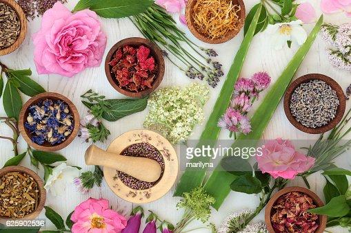 Natürliche Alternative Medizin : Stock-Foto