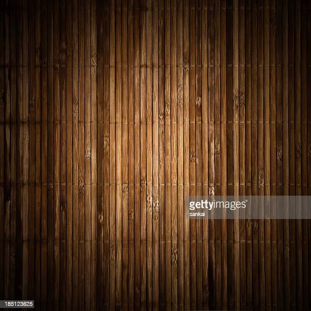 Natürliche Struktur Hintergrund mit Bambus