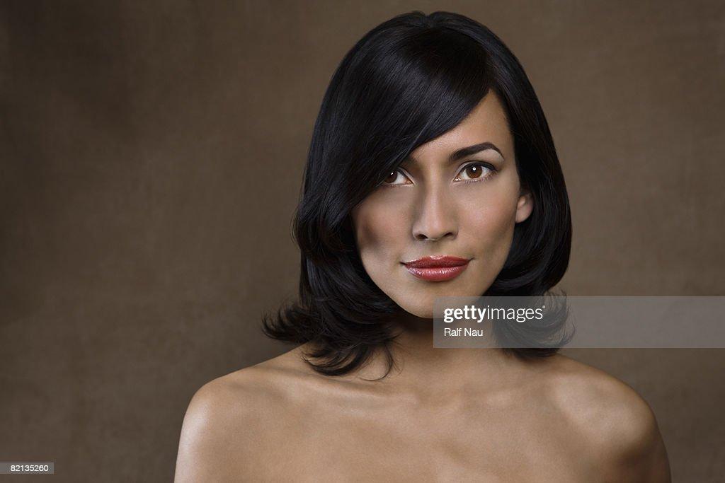 Natural Beauty Portrait : Stock Photo