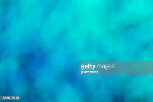 Natural blue bokeh background : Stock Photo