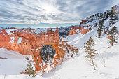 Natural Bridge in winter at Bryce Canyon National Park