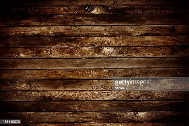 Deteriorado madera Natural