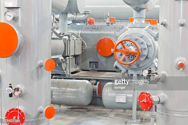 Compresseur de gaz naturel système
