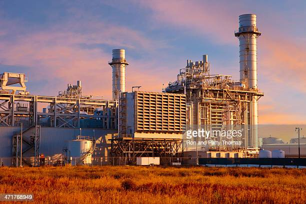 Natural Gas Fired Electrical Power Plant