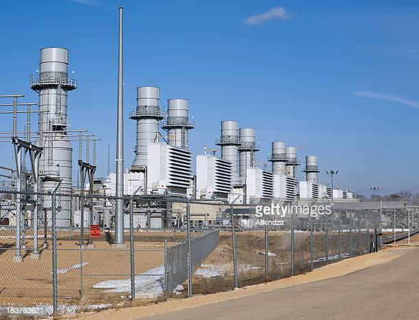 天然ガスタービン発電所