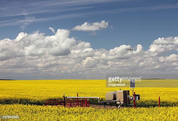 天然ガス坑口「中西部