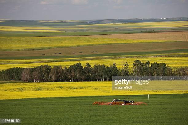 Natural Gas Wellhead on the Canadian Prairie