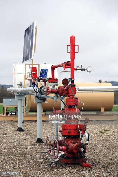 Natural Gas Wellhead
