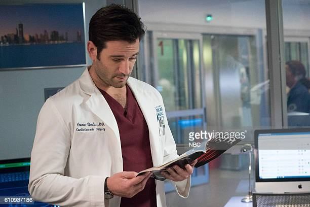 MED 'Natural History' Episode 202 Pictured Colin Donnell as Connor Rhodes