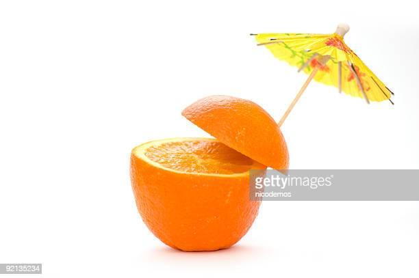 Natürliche Orangen-Cocktail