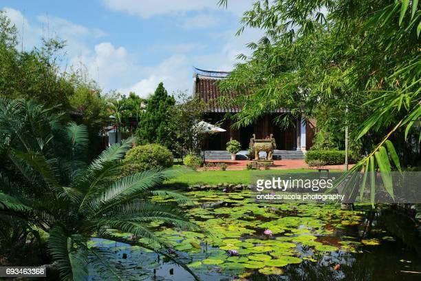 Natural oriental garden
